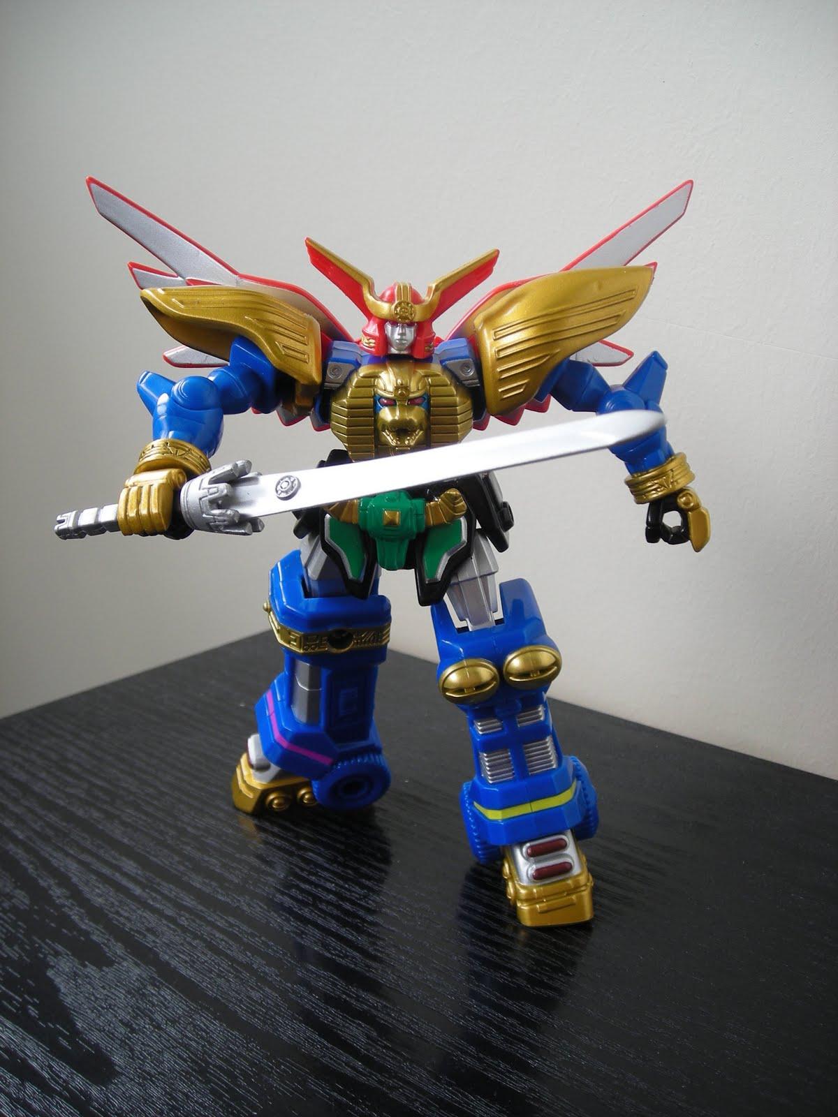 7 Power Rangers Samurai Megazord Toy Review