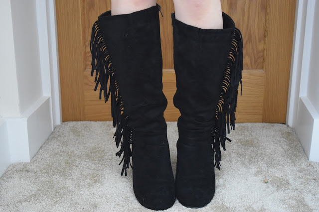 STYLE | Online Avenue Tassel Boots - Front View