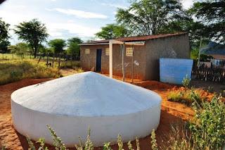 Comunidades contempladas com cisternas