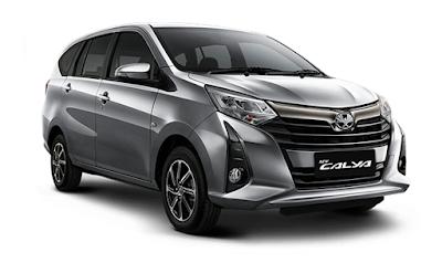 Toyota Calya Silver