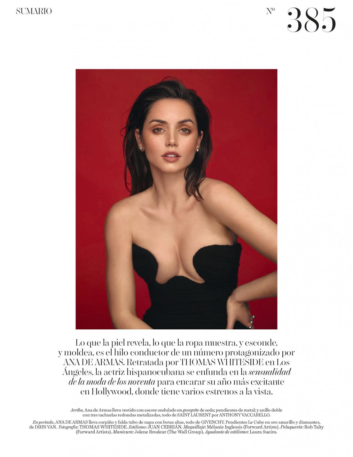 Ana De Armas - Vogue Spain April 2020 Issue