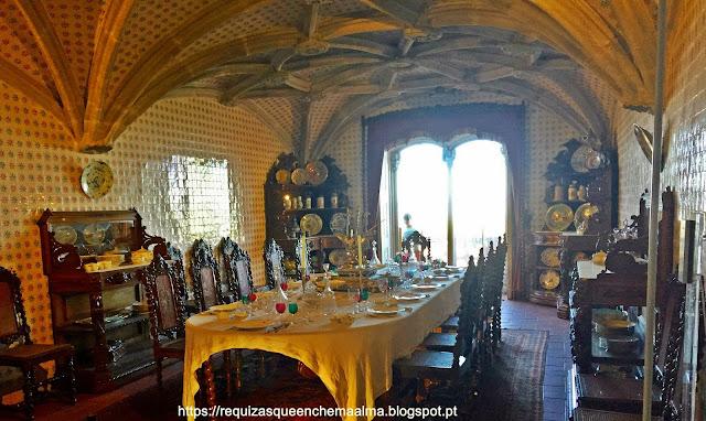 Sala de Jantar do Palácio da Pena