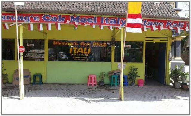 Warung Cak Moel Itali;10 Top Kuliner Bojonegoro;