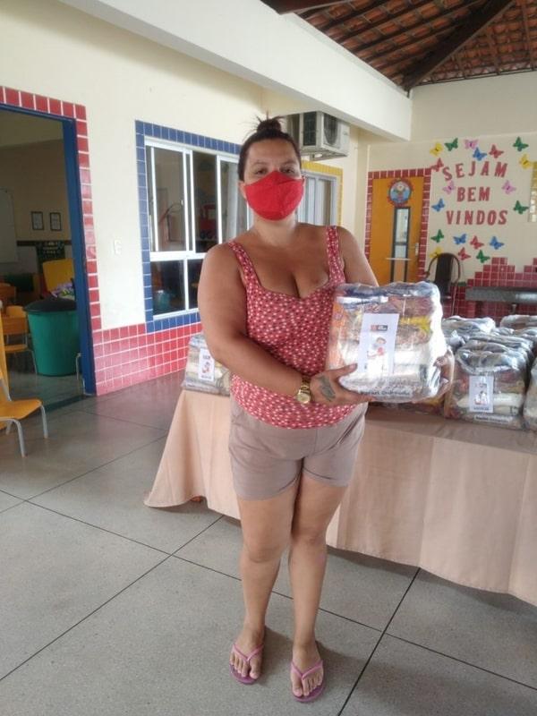 Prefeitura de João Pessoa inicia entrega de Kits de Alimentação Escolar nos Creis da Capital
