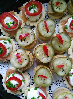 canapes, catering, party food, Galway Gateaux