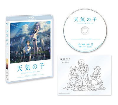 Weathering with You Anime Film Blu-ray