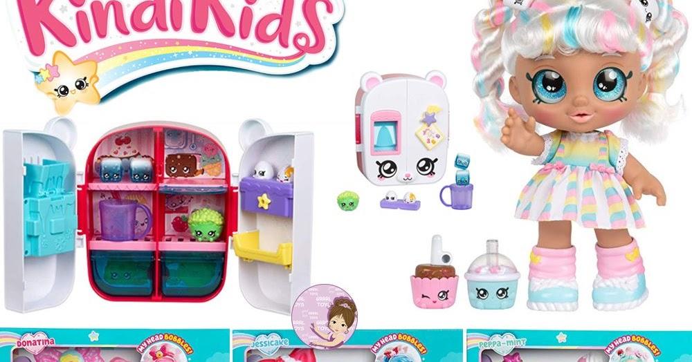 Pretty Kindi Kids Shopkins Collection Of Snack Time