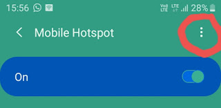 Mobile hotspot connecting solution