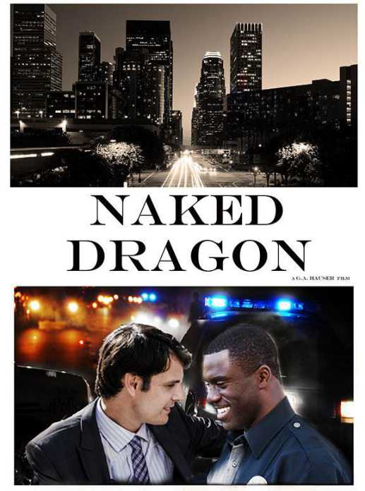 "CARTEL ""Naked Dragon - PELICULA - 2014"""
