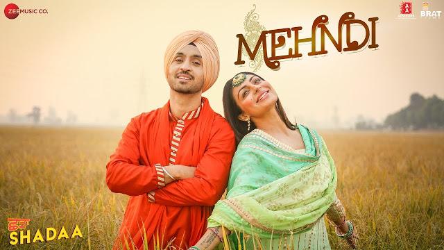 Mehndi Song Poster