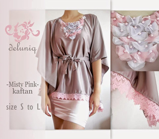 new kaftan (blouse/tunik) cantik by deluniq