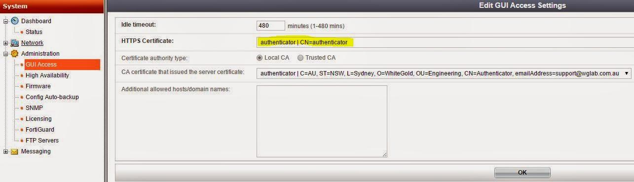 Al's Tech Corner: How-to: Change WebGUI HTTPS certificate on