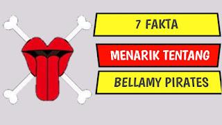 Fakta Bajak Laut Bellamy One Piece