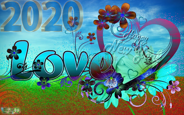 Happy New Year 2020 HD Love Images