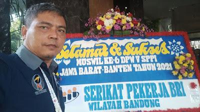Gani Priyatna Terpilih Kembali Jadi Ketua DPW Serikat Pekerja Pos Indonesia