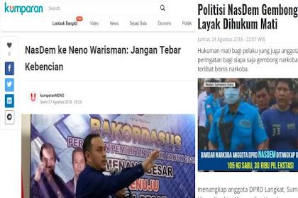 NasDem Peringatkan Neno Warisman Jangan Tebar Kebencian,  Netizen: Tebar Sabu saja 3 Karung