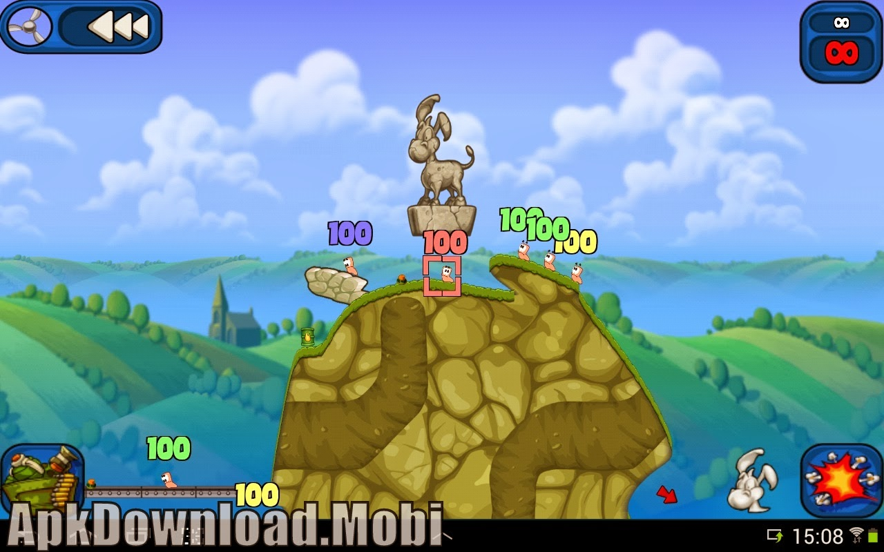 download game worms apk mod