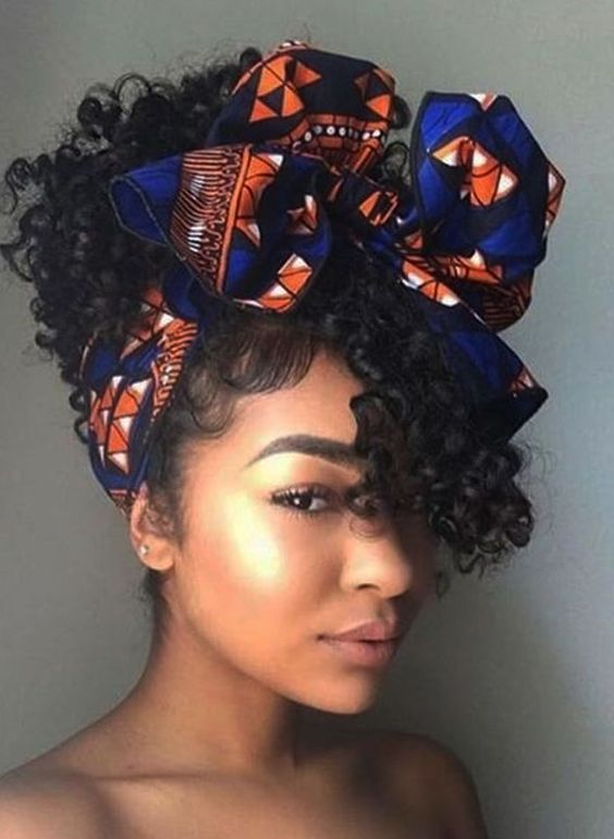10 Ankara Headtie Styles to Rock This Season