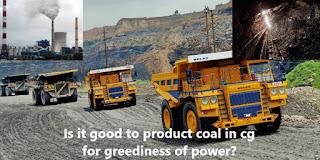 Is it good to produce coal in CG cg to g g to cg conversion