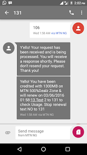 MTN Surprise:  How to get 5GB data with free N2560 for N2000. price in nigeria