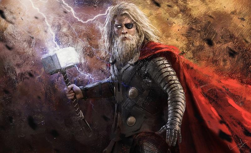 Thor e o Duelo Com o Jotun Hrungnir