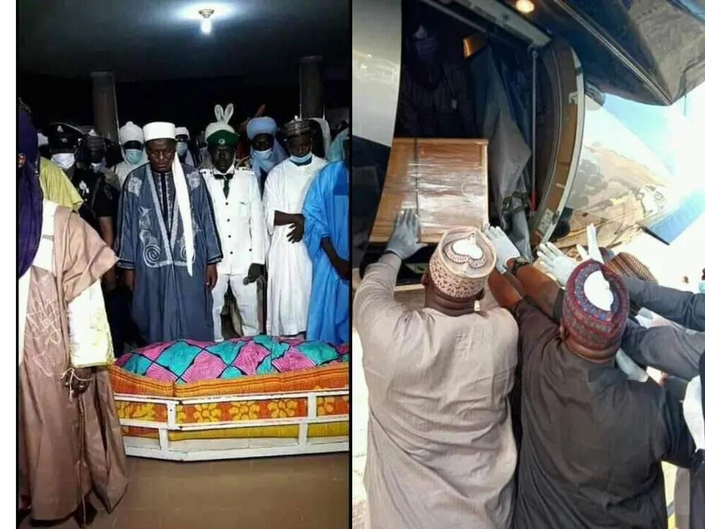Mama Taraba Aisha Alhassan buried in Jalingo [Photos]