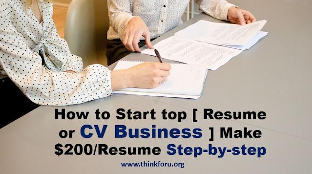[ Resume or CV business ]