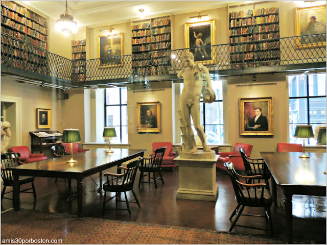 Sala Privada del Boston Athenæum