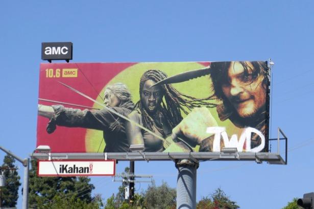 Walking Dead season 10 billboard