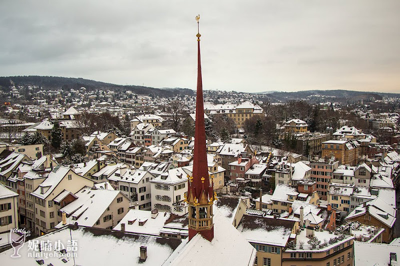 【蘇黎世景點推薦】Grossmünster 蘇黎世大教堂。俯瞰蘇黎世的觀景勝地