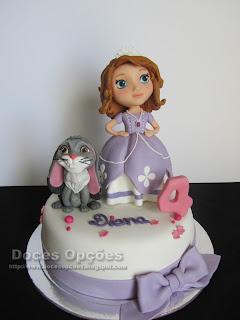 A Princessa Sofia no 4º aniversário da Diana