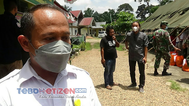 Plt. Kadis PUPR Tebo Sardi : TMMD Ke-112 Kodim 0416/Bute Sangat Membantu Pemerintah