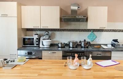 konsep dapur unik dan menarik