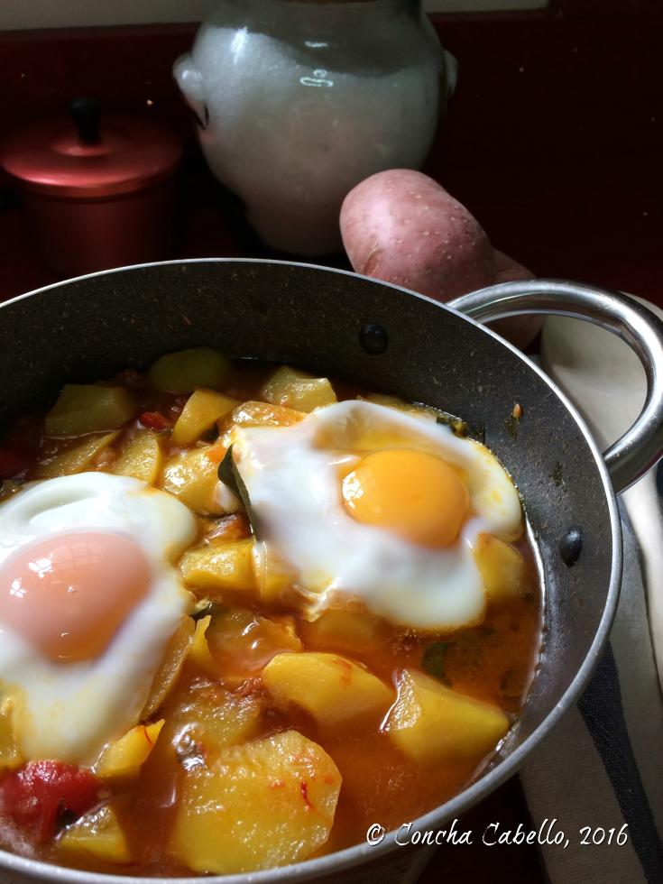 patatas-riojana-huevos-cuajados