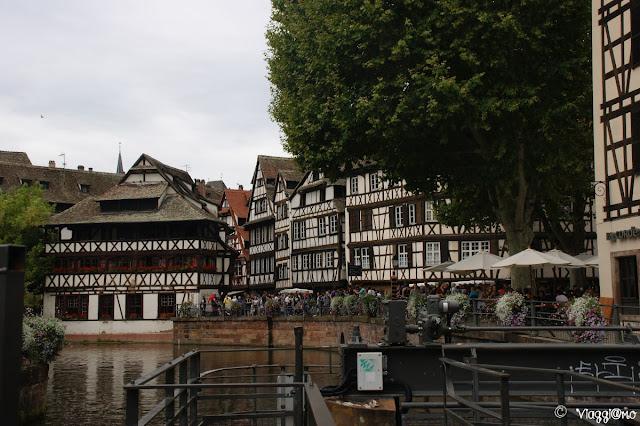 Case e canali della Petit France di Strasburgo