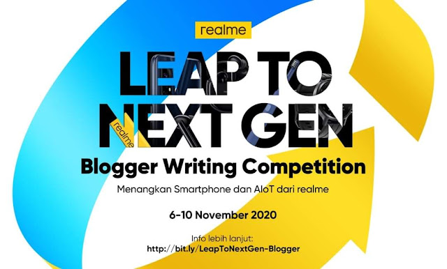 realme blog competition