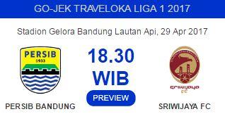 Persib Bandung menjamu Sriwijaya FC