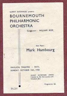 Bournemouth Philharmonic Orch, William Rees