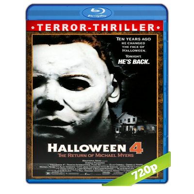 Halloween 4 (1988) BRRip 720p Audio Trial Latino-Castellano-Ingles 5.1