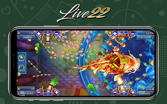 Live22 Fishing Game Casino Online