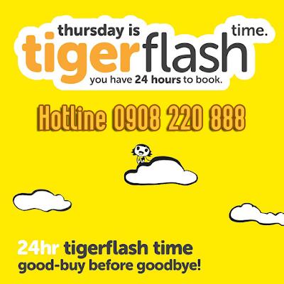Khuyến mãi Tiger Air ngày 13-07-2017