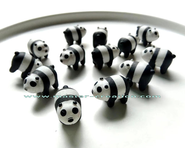 mini panda decorative pendant