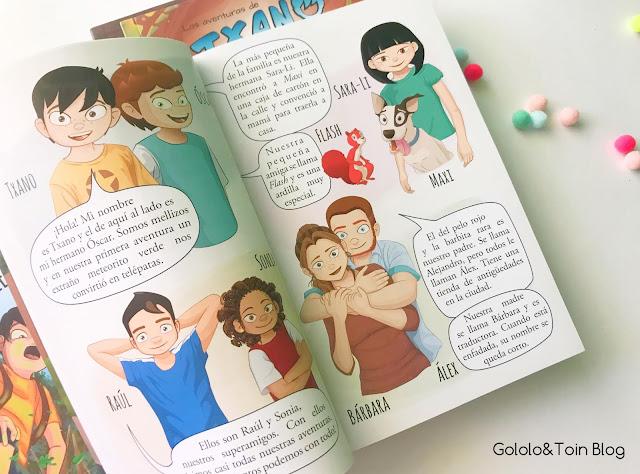 Colección Las aventuras de Txano y Óscar