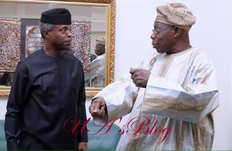Osinbajo speaks on meeting with Obasanjo