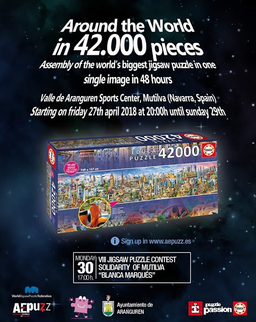 World Landmarks 42000 pieces puzzle