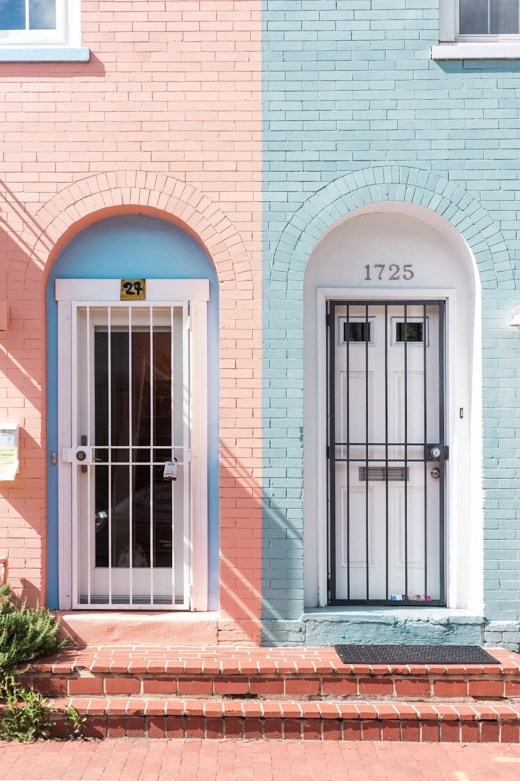 Pastel Peach & Blue Interior Inspiration