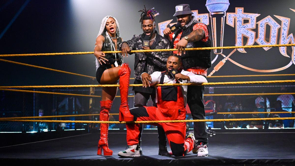 Lio Rush originalmente iria fazer parte da Hit Row no WWE NXT