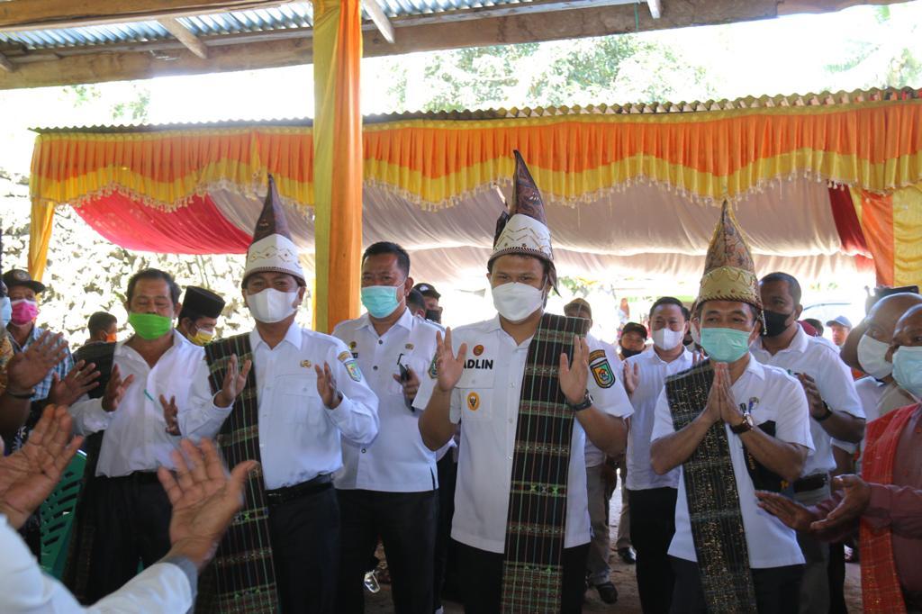 Bupati dan Wabup Sergai Menghadiri Acara Syukuran Yang Digelar Masyarakat Kecamatan Sipispis
