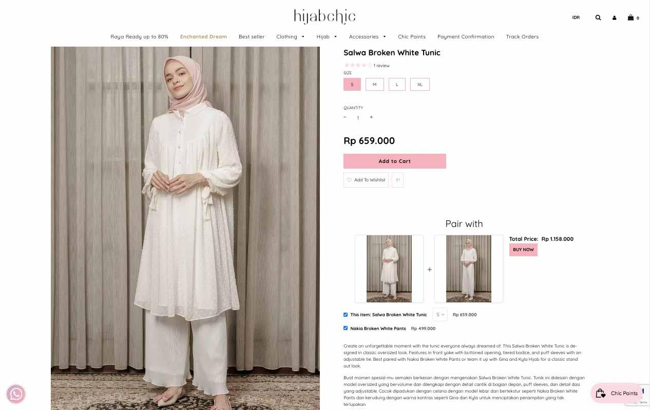 Belanja Online Baju Muslim HijabChic Web Official
