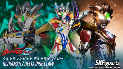 S.H. Figuarts Ultraman Z Delta Rise Claw Official Images